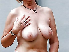 Voluptuous older slut baring it all on pictures