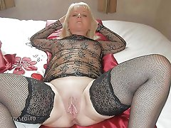 Glamorous mature whores having dripping cunt