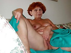 Glamour mature MILFs get undressed for you