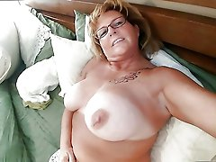 Adored cougar intensively drilled