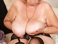 Glamorous mature mademoiselles getting undressed