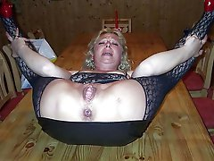 Horny mature housewives trying to tease