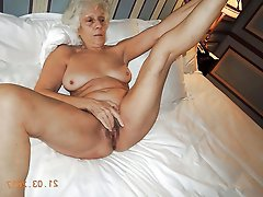 European mature cougar fucked in public
