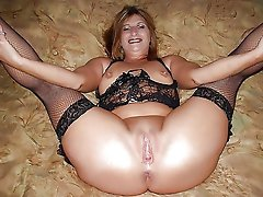 Awesome mature whores enjoying a huge boner so much